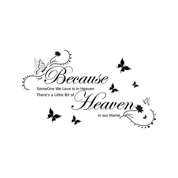 Download Svg PNG Because Someone We Love Is In Heaven Heaven