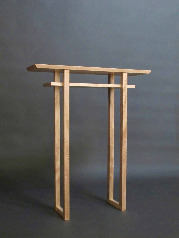 Tall Narrow Side Table