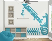 Construction Truck Decorations Construction Wall Decor