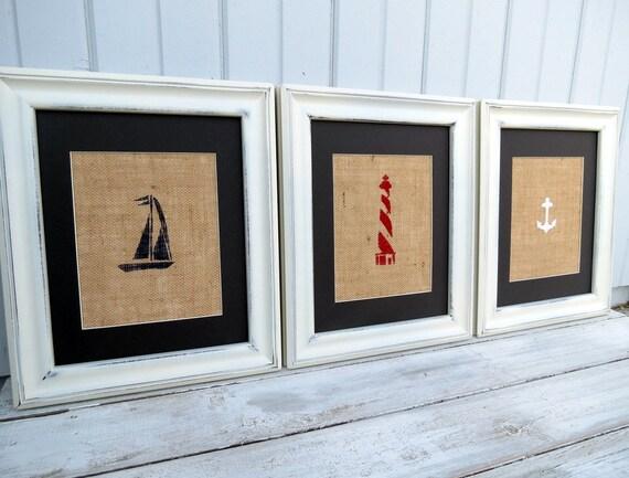 Items Similar To Nautical Decor Nautical Nursery Wall