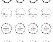 Printable gift tag labels...