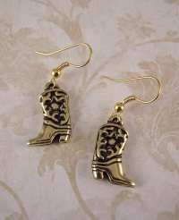 Cowboy Boot Earrings Cowgirl Boot Earrings Horses Boots