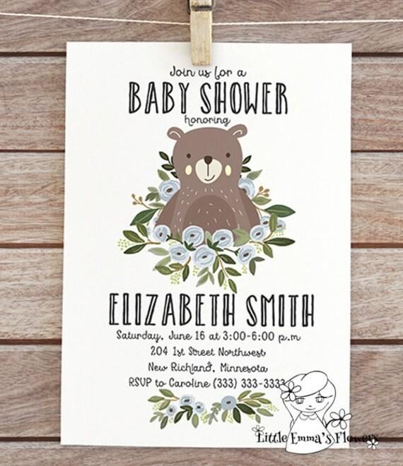 Inexpensive Baby Shower Invitations Boy