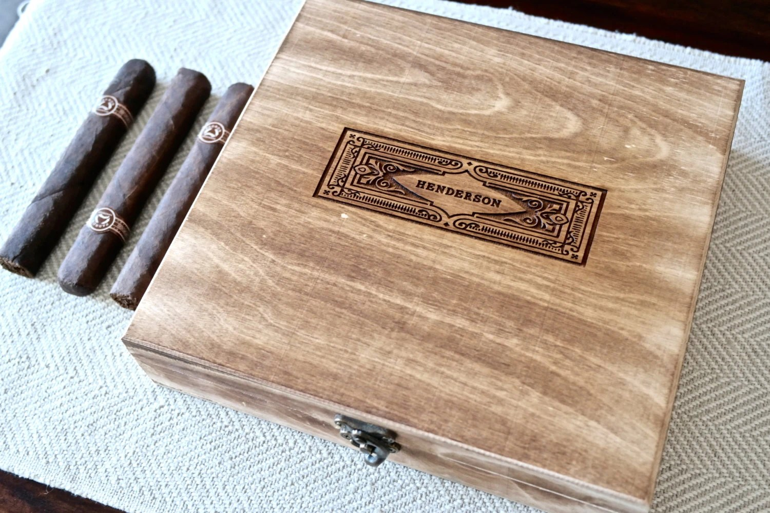 Groomsmen Gift Personalized Cigar Boxes Personalized Gift