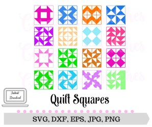 svg quilt quilting squares printable something request order custom