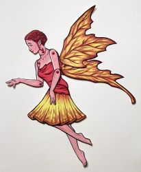 fairy paper doll woodland articulated forest fantasy revisit later favorites etsy