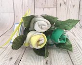 Rose Sock Bouquet - Green...