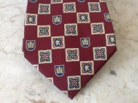 Tommy Hilfiger Necktie All Silk Luxury Menswear Classic