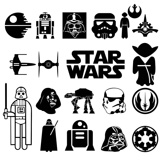 70% off Star Wars Svg Collection Star Wars Clipart Star