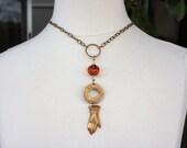 Vintage Brass Victorian L...