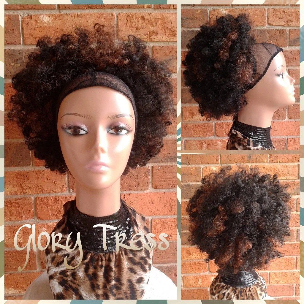 kinky curly afro drawstring