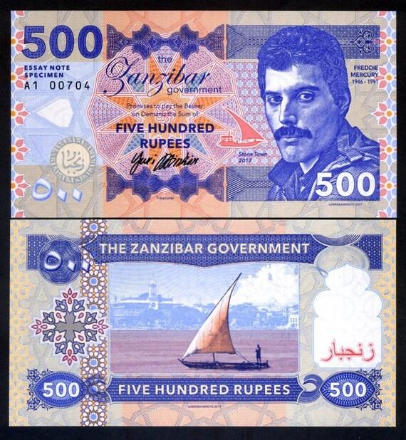 Freddie Mercury fantasy banknote