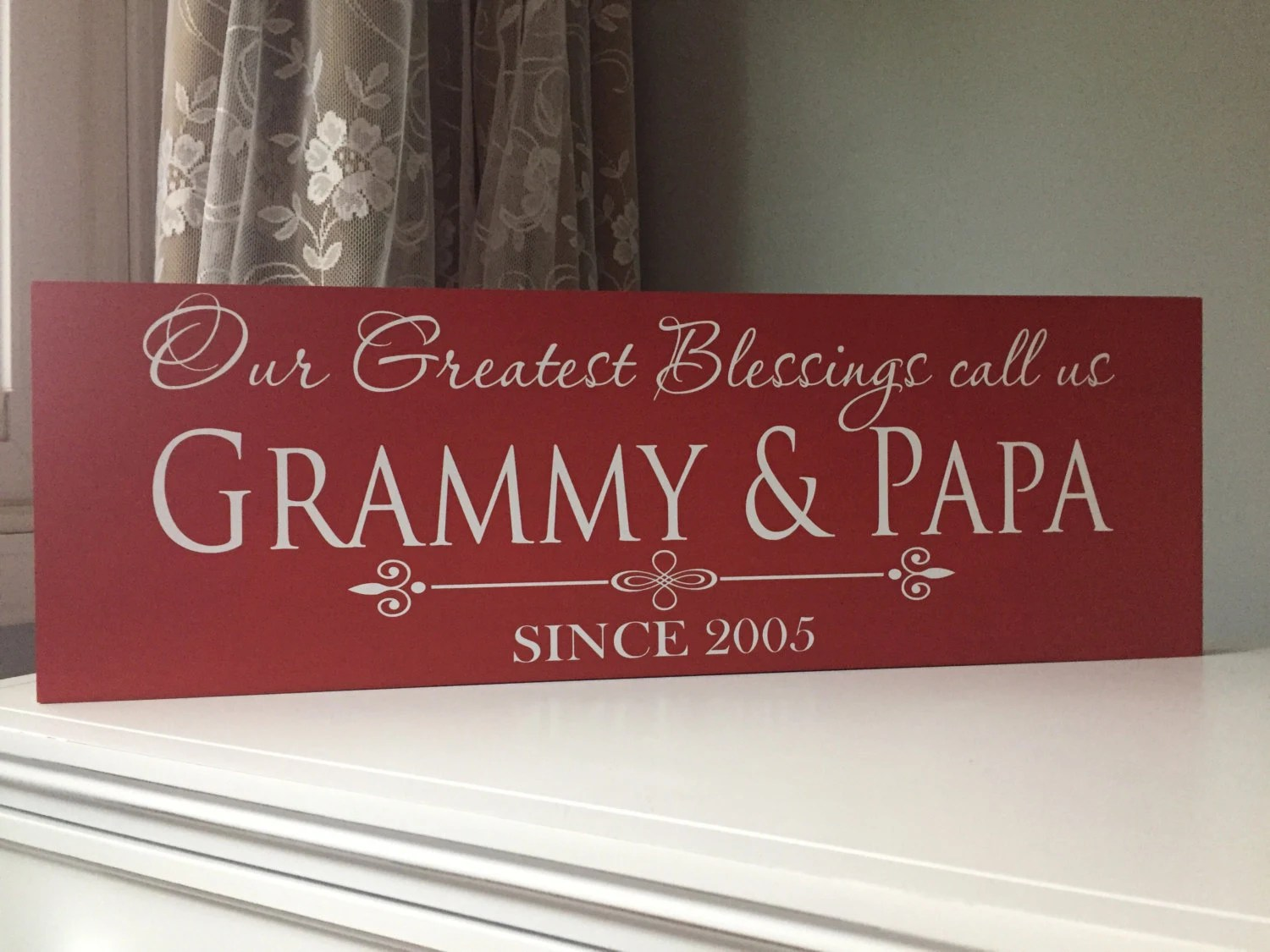 Personalized Gifts For Grandparents Grandparents Sign Nana