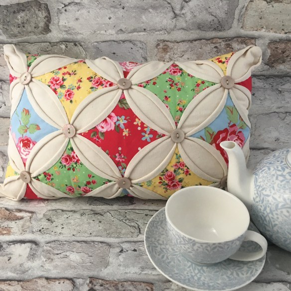 Cathedral Window Cushion ...
