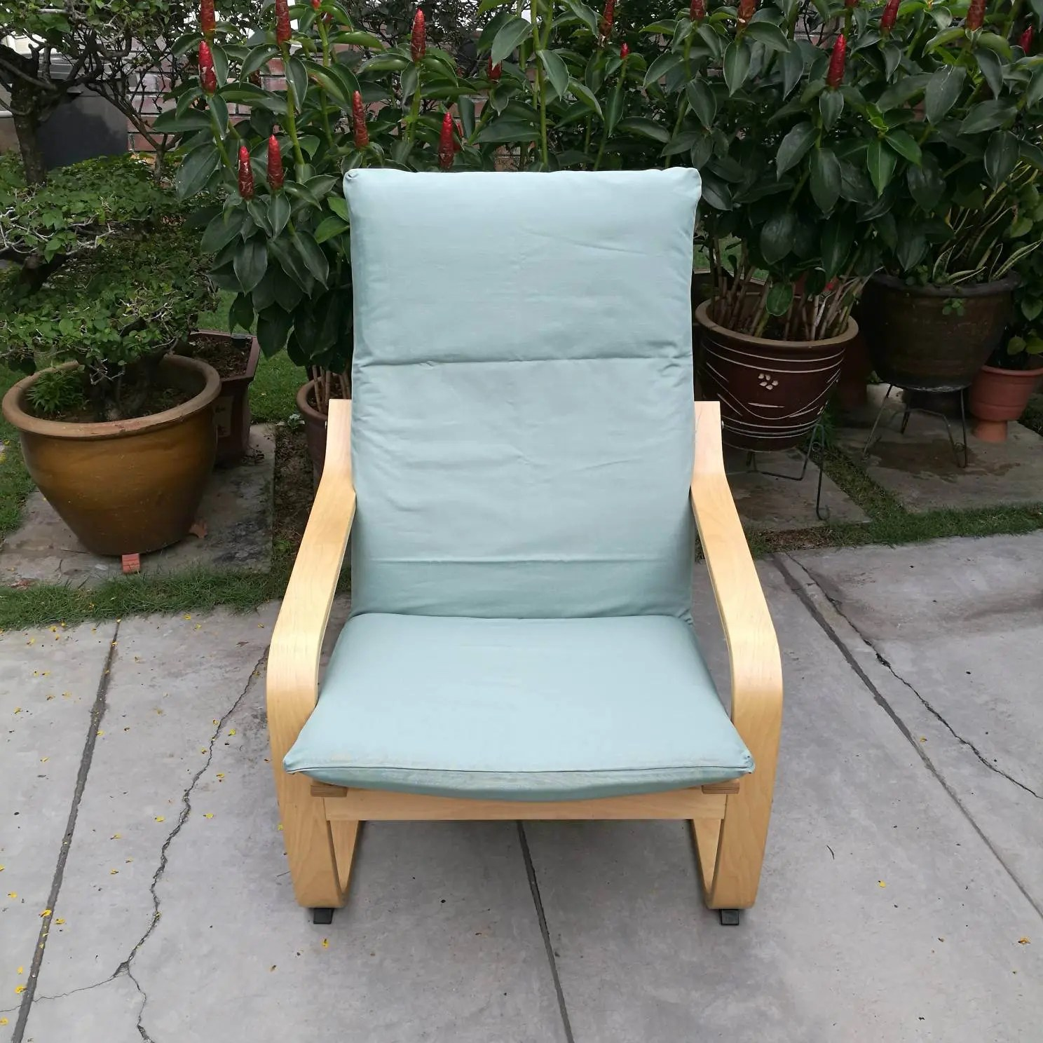 ikea poang chair covers uk cover rentals northern va cushion mint cotton