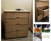 chest of four drawers, wo...