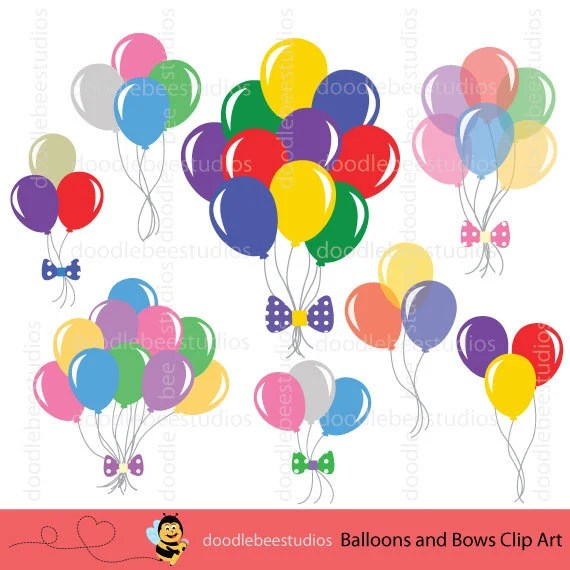 Art Balloons Balloon Clip Strings Without
