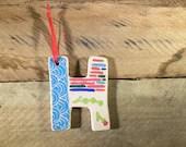 Ceramic Initial / Letter ...