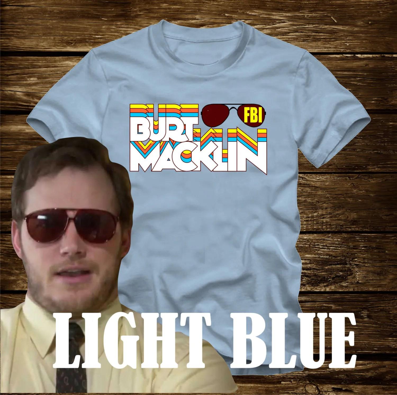 Burt Macklin Fbi Retro T-shirt Parks