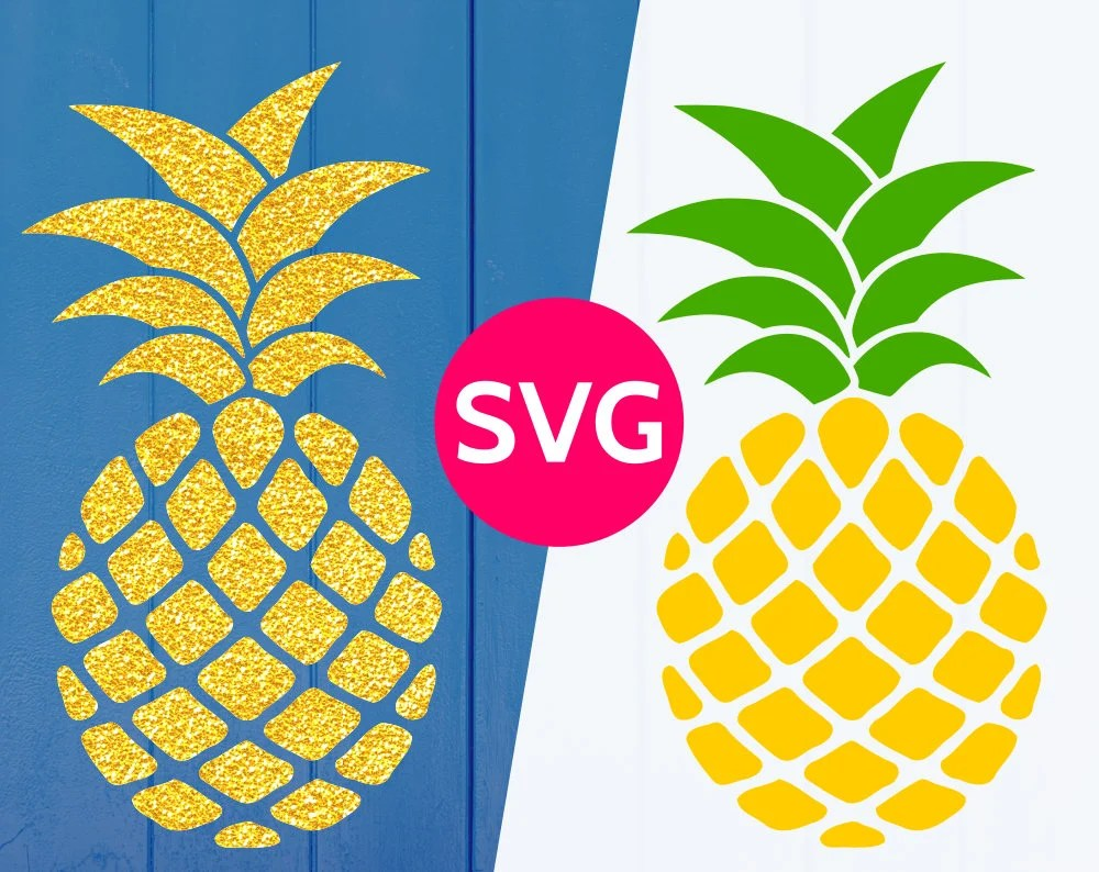 Download Pineapple SVG file for Cricut & Silhouette, SVG Pineapple ...
