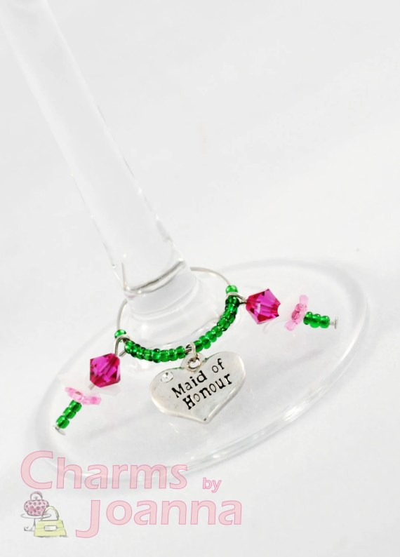 Wedding / Party wine glass charms