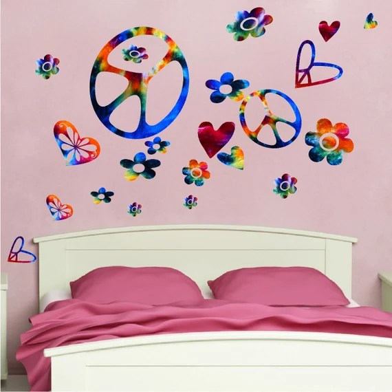 Bedroom Peace Wall Decals by PrimeDecal