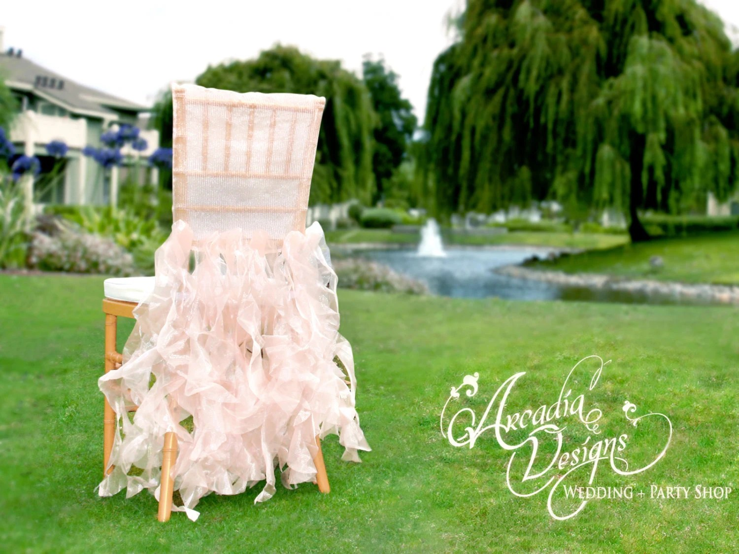 used chair covers wedding for sale hanging apartment bridal cover ruffle decoration made to