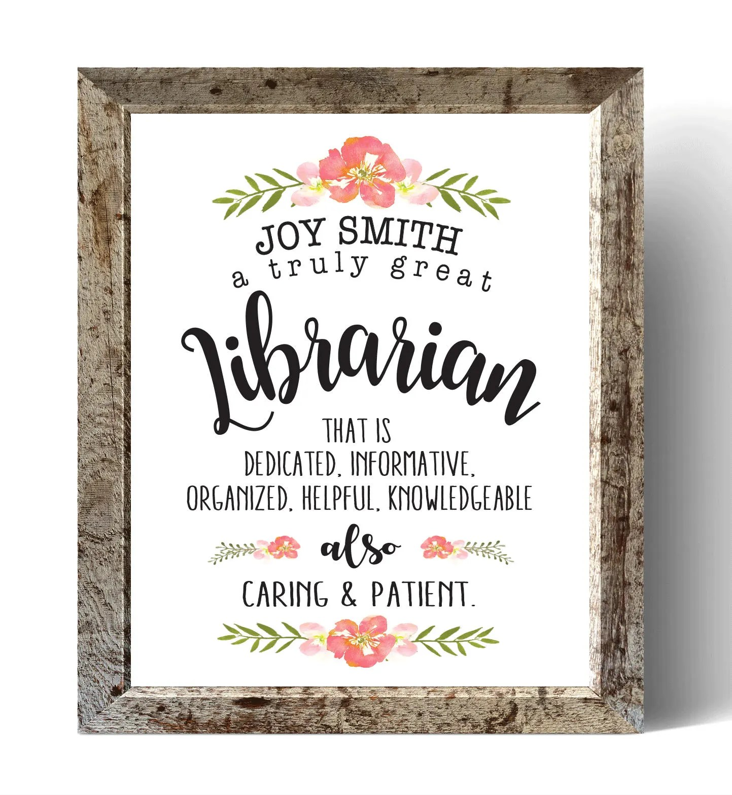 Gifts For Librarians Etsy