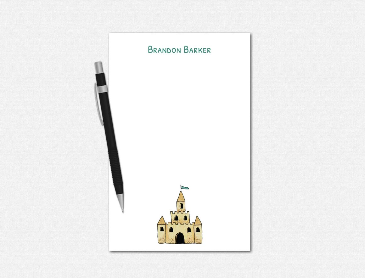 Personalized Notepads - S...