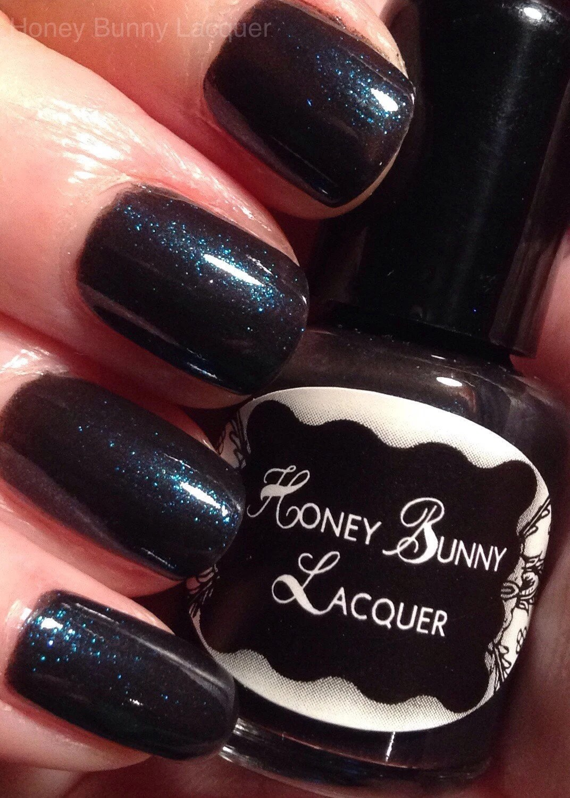 drink black nail polish