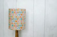 Alphabet lamp Alphabet nursery ABC nursery decor Unisex