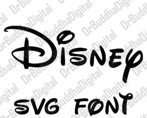 Download Sale Disney Font SVG Collection Disney Alphabet DXF