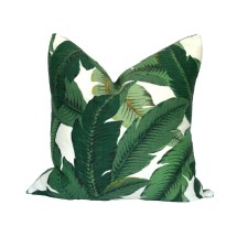 Indoor Outdoor Banana Palm Pillow Cover Choose Size