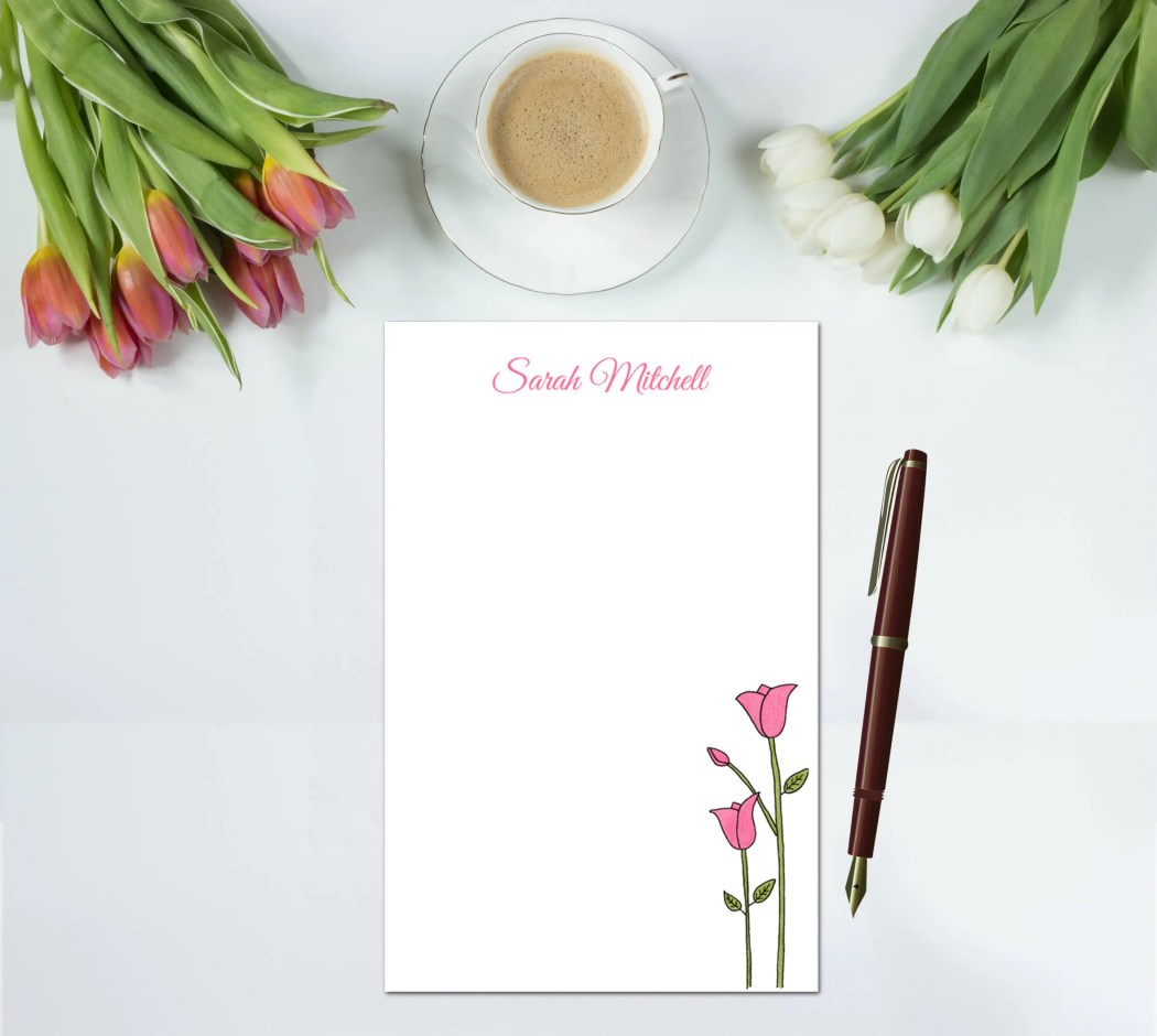 Personalized Notepad - Tu...