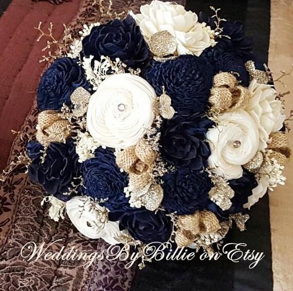 Navy Blue And Champagne Wedding Ideas | deweddingjpg.com