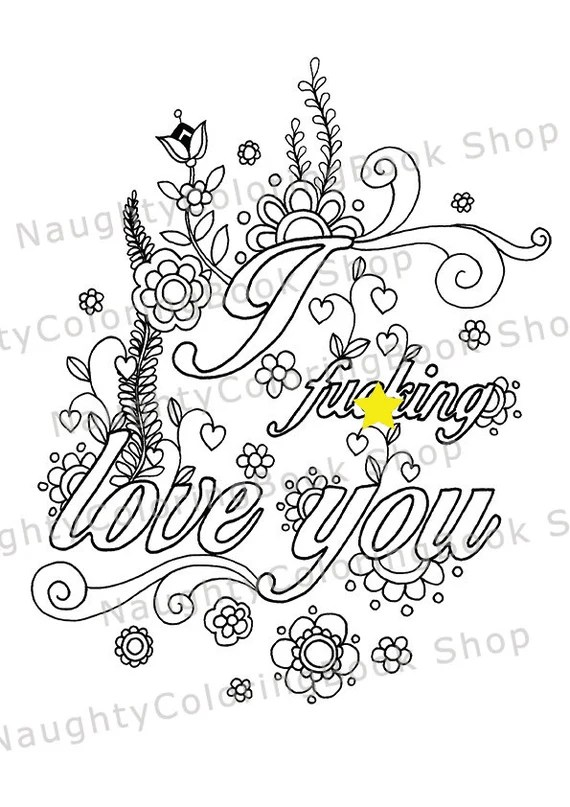 naughty valentine coloring page funny valentine gift sexy