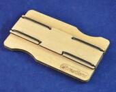 Slimline wooden wallet: P...