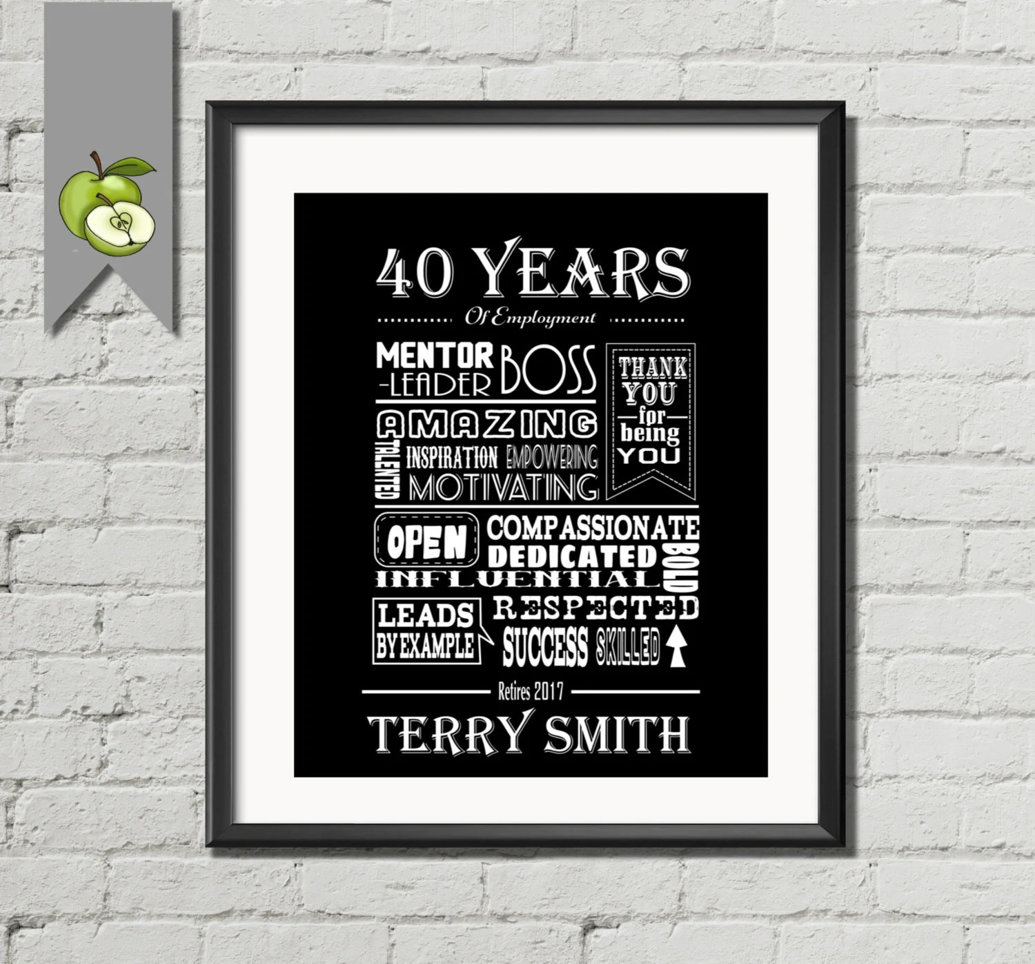 Items Similar To Boss Retirement Gift Retirement Messages