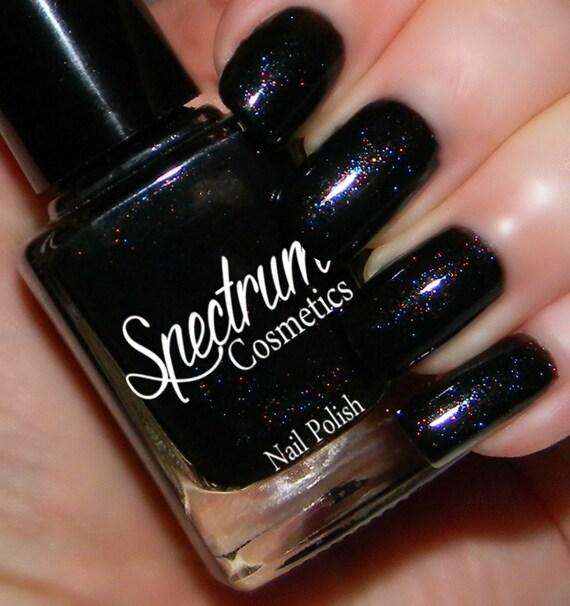 macabre black nail polish