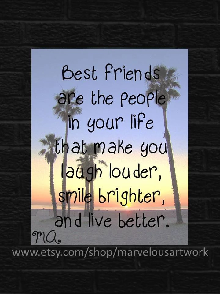 Items Similar To Gifts For Best Friends California Art