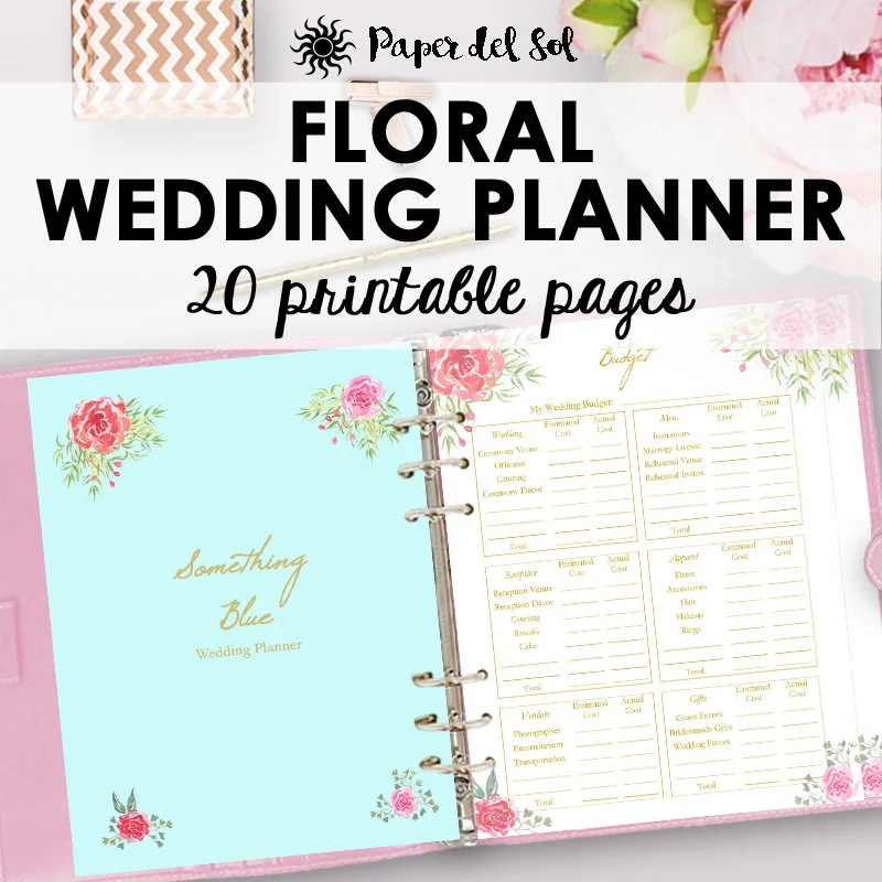 Planner Budget Pages Free Printable