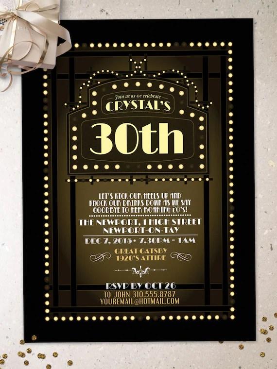 party invite printing