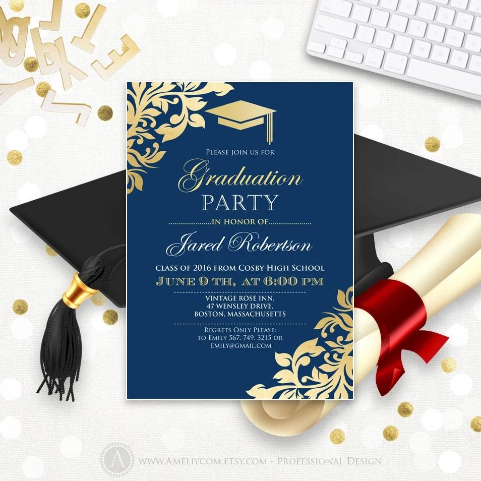 Discount Graduation Invitations