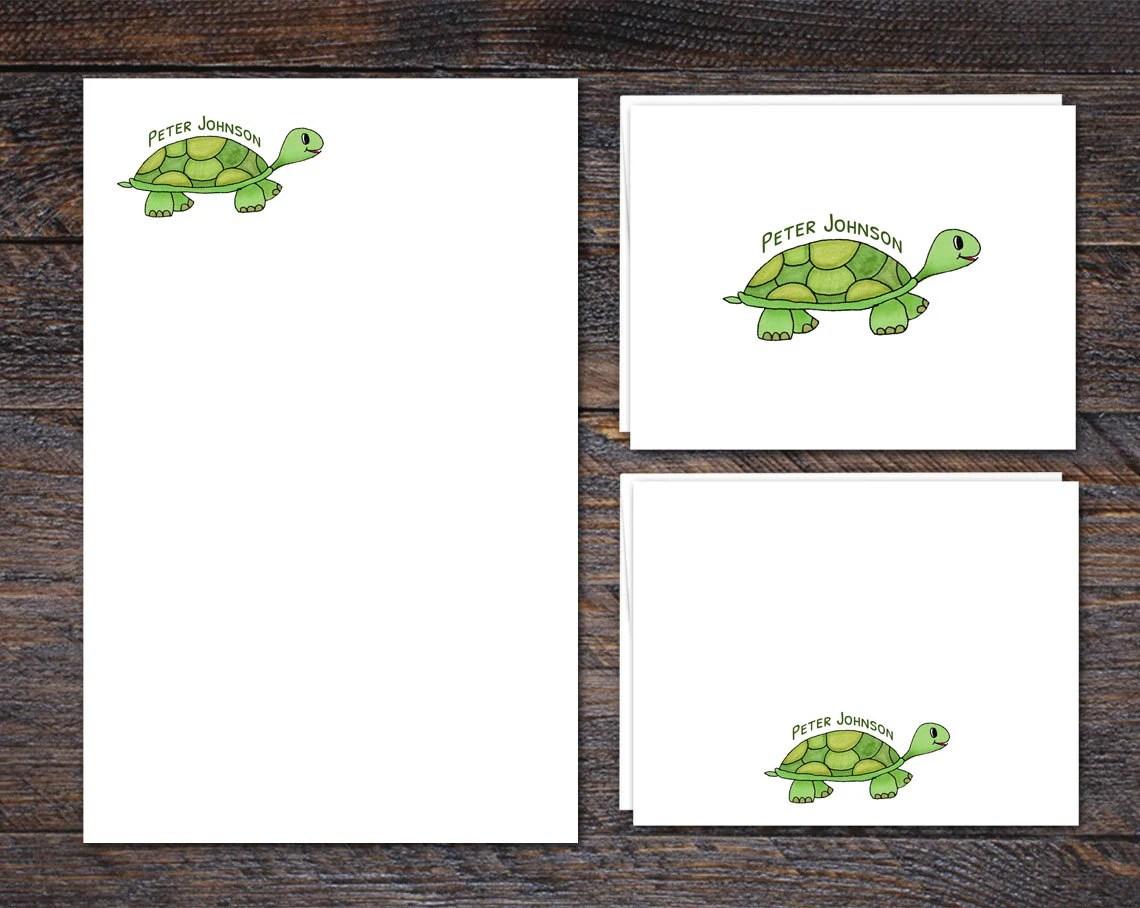 Turtle Stationery Set - N...