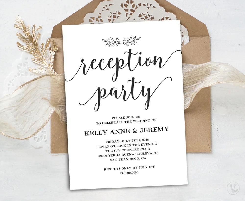 Wedding Reception Invitation Wording Spanish The Wedding Date
