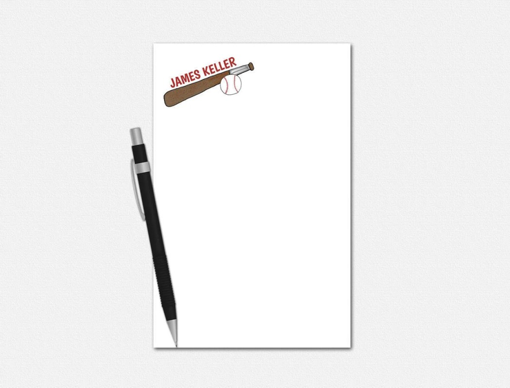 Personalized Notepads - B...