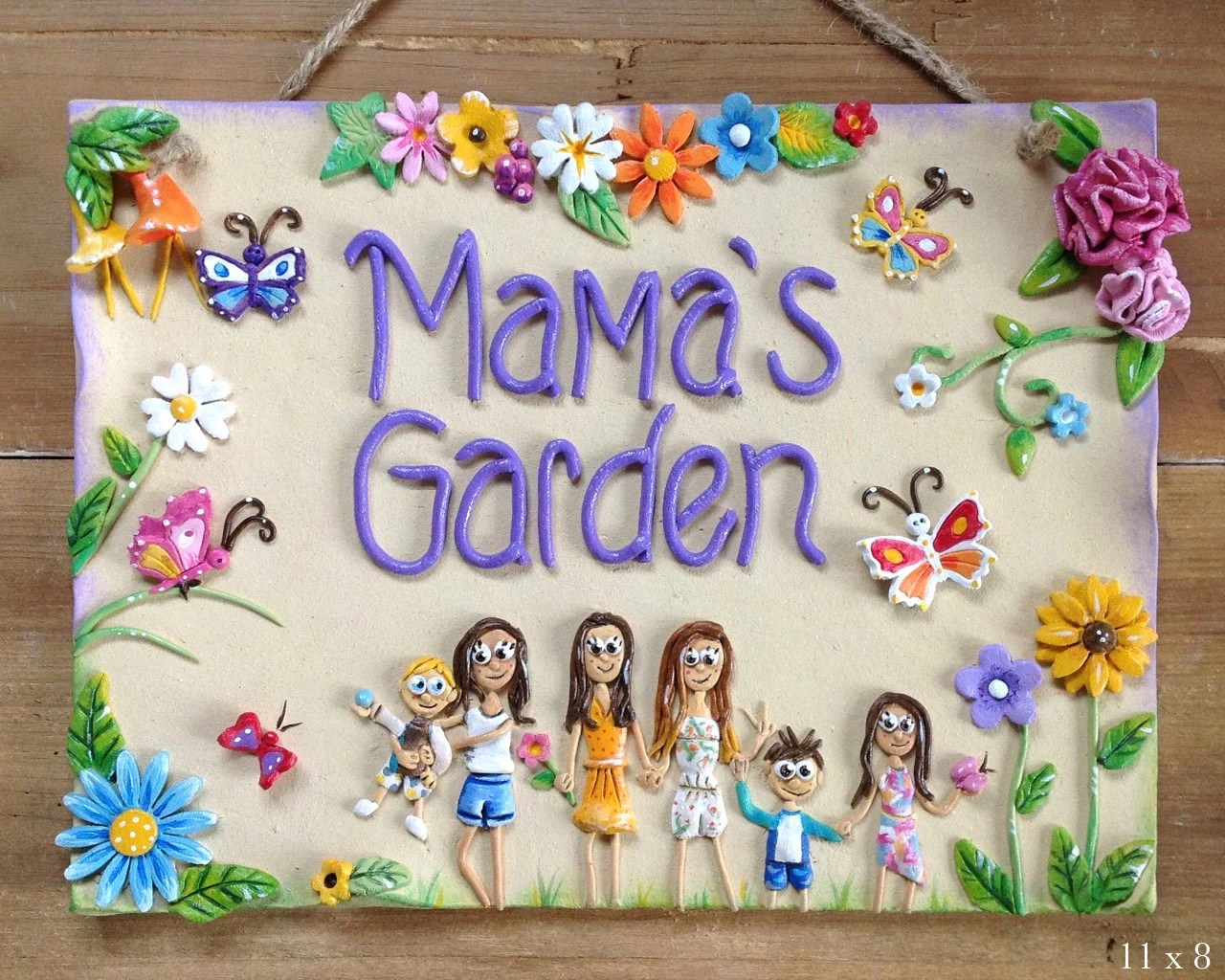 Design Your Own Garden Plaque