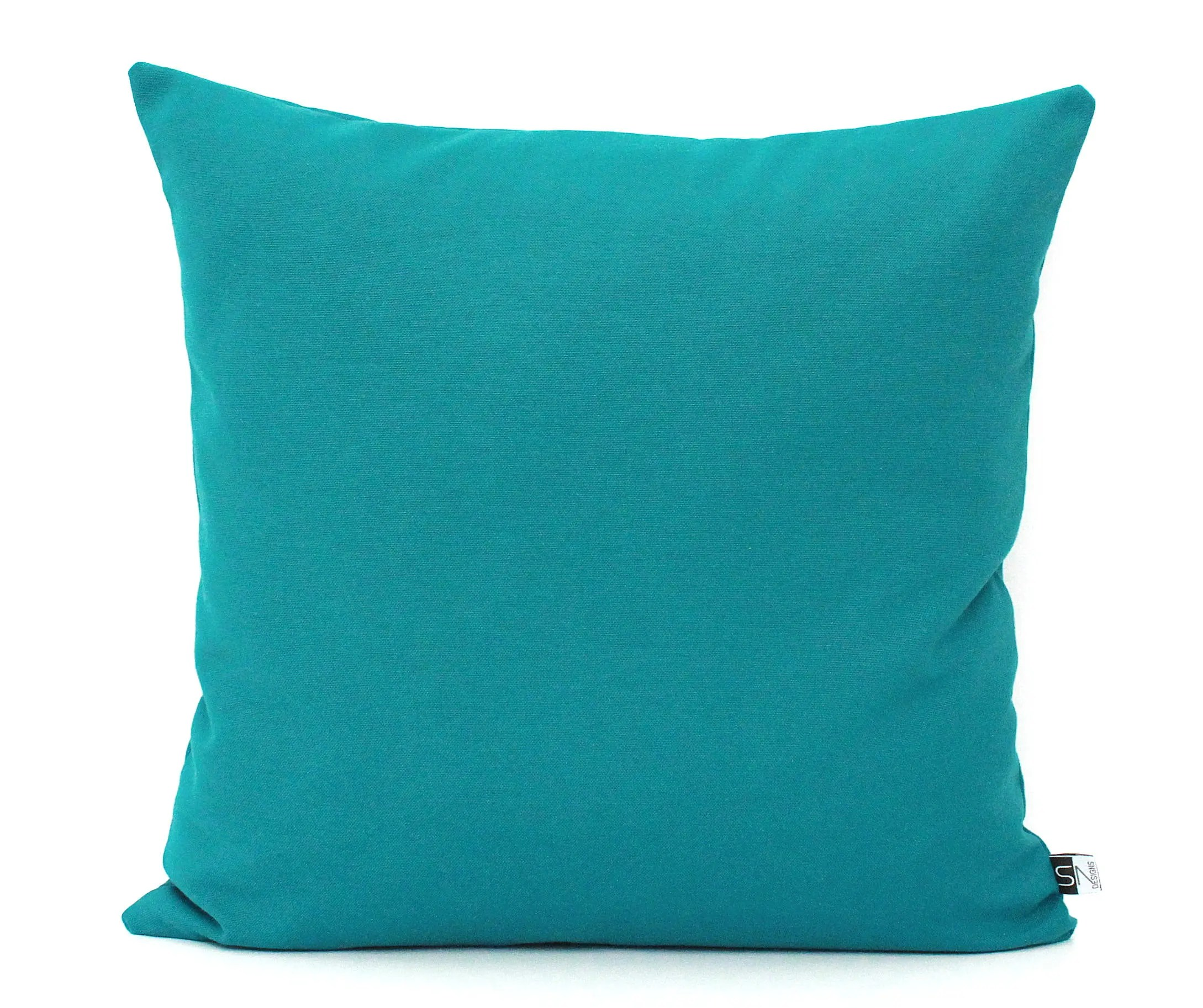 Teal pillows  Etsy