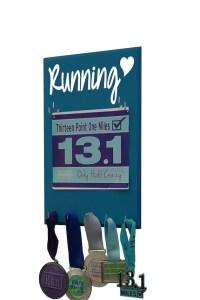 Running Race bib and medal holder Runners medal rack