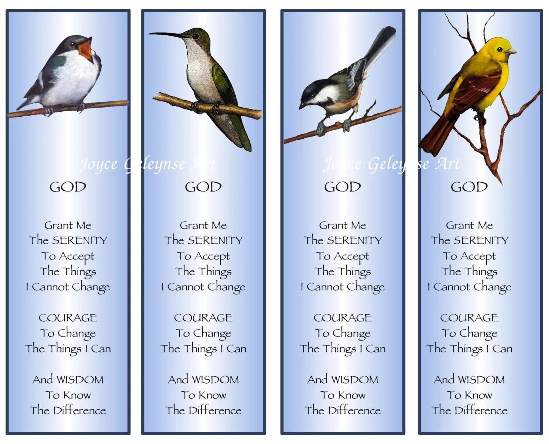 Serenity Prayer Printable Version